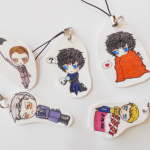 Ebi Uh Oh Cell Charm